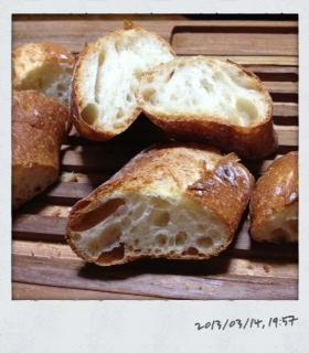 リスドオルでフランスパン