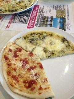 pinocchioのピザ