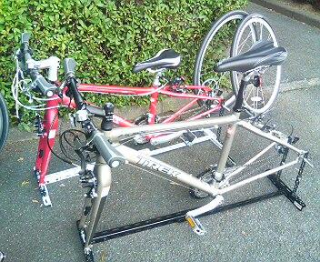 自転車の 自転車 車載 スタンド 自作 : 自作車載スタンド(前回の宇和 ...